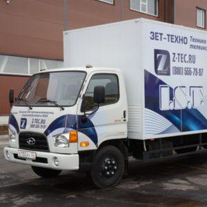 Оборудование для санации труб с монтажом в Hyundai HD78 Long