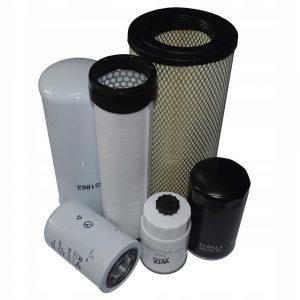 Комплект фильтров для Vermeer 16x20a:Воздушный 2 шт., Масляный, Топливный, Гидравлический 2шт.(США)